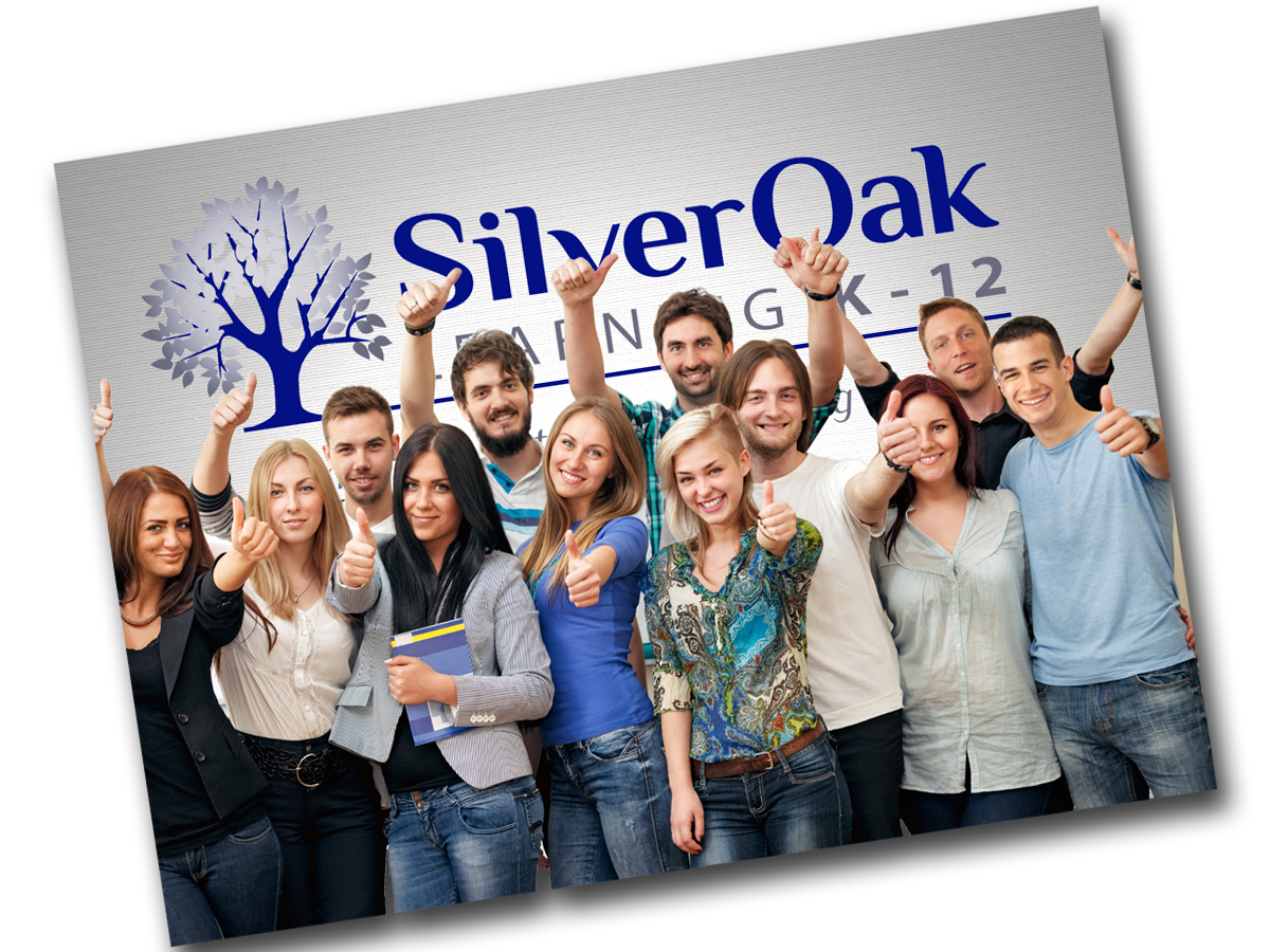Happy Silver Oak learning Center students