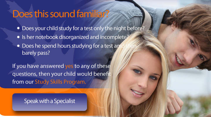 Contact us to speak with a study skills specialist