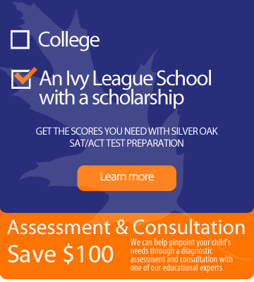 Get ready for the Ivy league with help from Silver Oak Learning